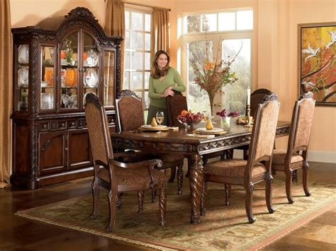 Ashley North Shore Dining Room Collection Traditional