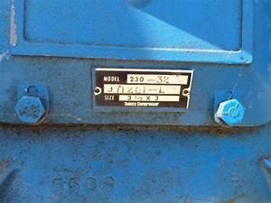 Quincy 230 Compressor Pump