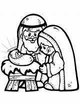 Nativity Coloring Pages Scene Clipartmag Clipart sketch template