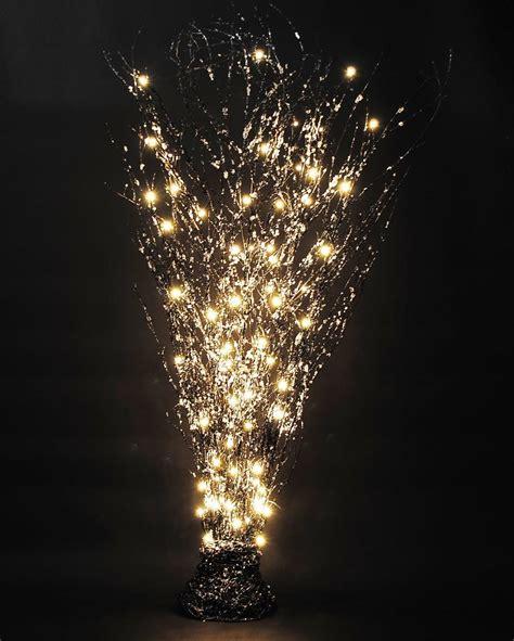 Beleuchtet Weihnachten by Zweige Led Beleuchtung Glas Pendelleuchte Modern