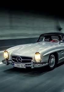Classic Mercedes Sports Car