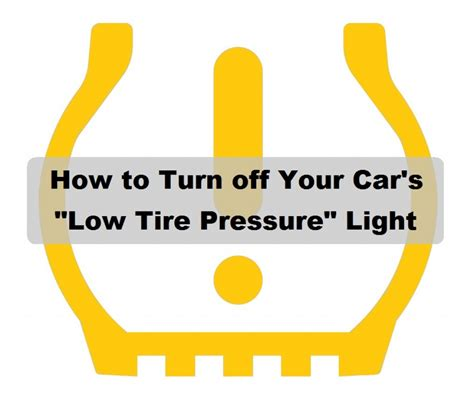what is tpms light how to reset a stuck low tire pressure tpms light