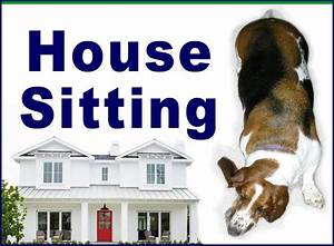 house pet sitter With dog and house sitting services