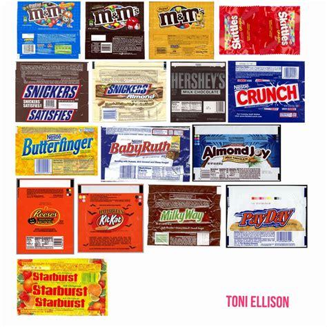 candy wrapper toni ellison wrapper templates