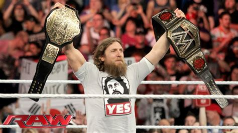 Daniel Bryan Celebrates His Wwe World Heavyweight
