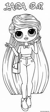 Lol Omg Coloring Lara Printable sketch template