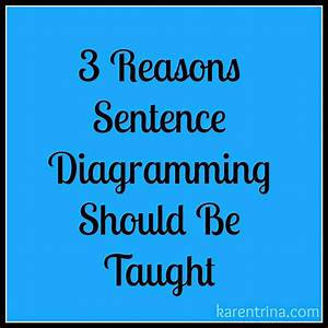 Karentrina Childress   Why Sentence Diagramming Is Important