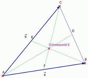 Seitenhalbierende Dreieck Berechnen Vektoren : vektor mit gro buchstabe onlinemathe das mathe forum ~ Themetempest.com Abrechnung