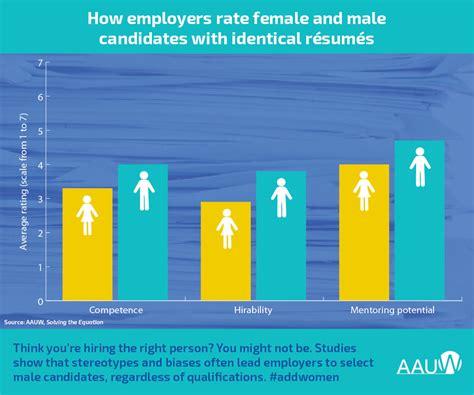 in stem fields many employers hire