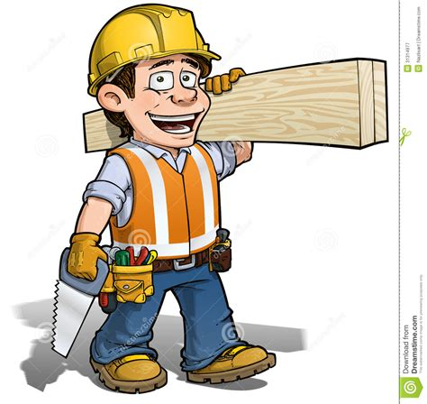 Construction Clip Clipart Construction Worker Pencil And In Color