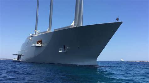 Yacht Innen by Mega Sailing Yacht A Visit Ibiza Formentera