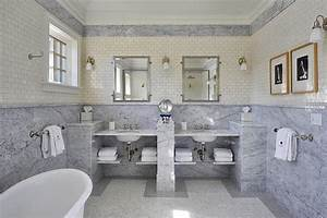 Marble Slab Wainscoting Design Ideas