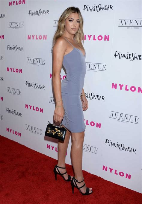 sistine stallone   nylon young hollywood party