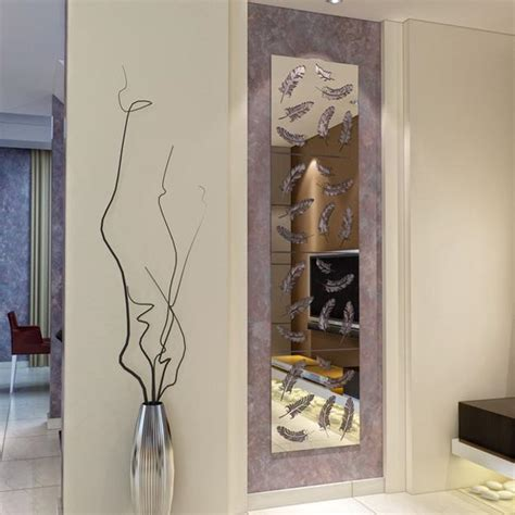 wall mirrors  laser cut images accentuating modern