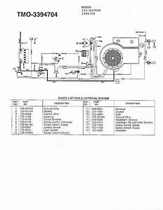 Mtd Model 132-431f088 Lawn  Tractor Genuine Parts