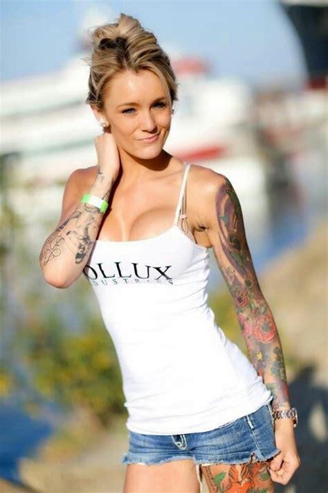 beautiful female tattoo models kaytee anna