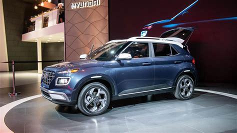 Hyundai Suv 2020 by 2020 Hyundai Venue Is Korean Brand S Smallest Suv Yet