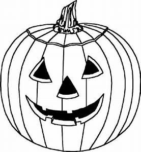Une Citrouille Pour Halloween : coloriages coloriage d 39 une citrouille ~ Carolinahurricanesstore.com Idées de Décoration