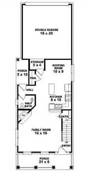 house plans for narrow lots 653437 2 traditional narrow lot house plan house plans floor plans home plans plan