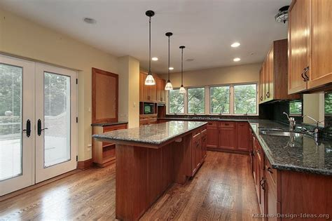 kitchen wall color ideas with cherry cabinets pictures of kitchens traditional medium wood kitchens