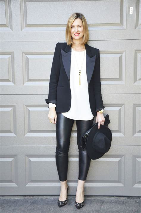 It bears repeating - faux leather leggings - Falling in Style