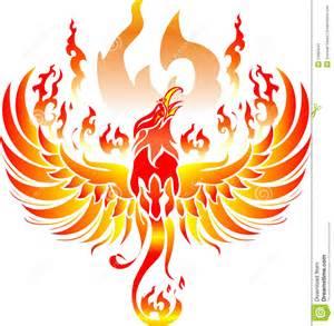 Fire Phoenix Drawing