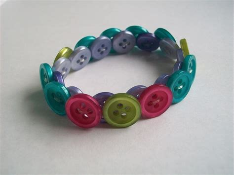 button bracelet a button bracelet jewelry on cut out keep