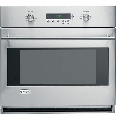 ge monogram  built  electronic convection single wall oven zetsmss ge appliances