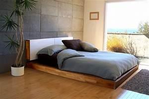 Bett Design Holz : moderne schlafzimmer ideen stilvoll mit designer flair ~ Frokenaadalensverden.com Haus und Dekorationen