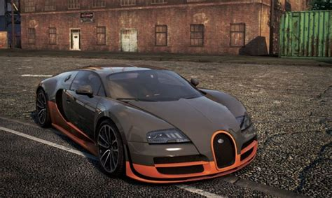 Bugatti Veyron Super Sport In Need For Speed