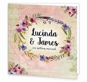antique floral folding wedding invitation loving invitations With floral wedding invitations ireland