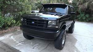 Ford Bronco 1994 7 U0026quot  Lift With 35 U0026 39 S All Black With 351 V8