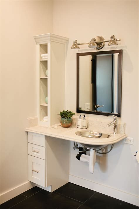Bathroom Lighting Requirements by Ada Certified Bathroom Dreambuilders