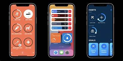 Iphone Apple Apps Resolutions Skin Fire Goals