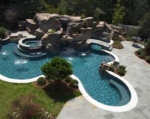 Piscine Avec Cascade : infos sur piscine avec cascade arts et voyages ~ Premium-room.com Idées de Décoration