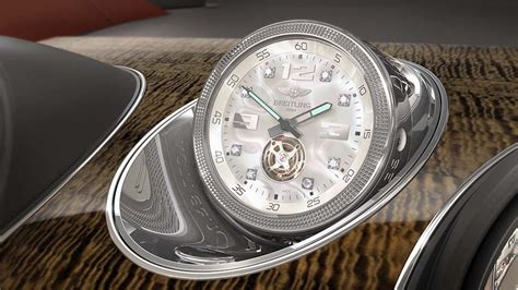bentley breitling clock bentley bentayga offering world s most expensive in car