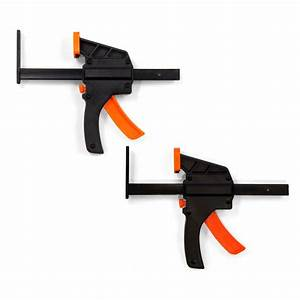 WEN 6 in. Quick Release Track Saw Clamps (2-Pack)-36053C ...