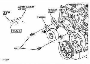1997 Buick Park Avenue Serpentine Belt Routing And Timing