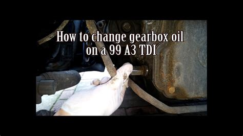 How To Change Your Gearbox Oil  Youtube