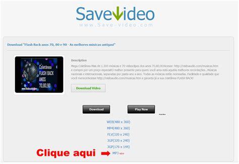 formato baixar video youtube mp3