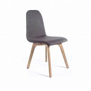 chaise de salle a manger moderne en tissu et bois With salle À manger contemporaineavec chaise moderne pied bois