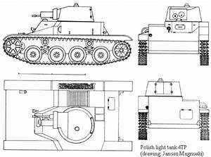 Polish 4tp Prototype Light Tank Diagram Image