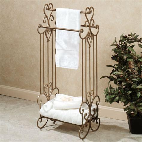 salle de bain fer forge le porte serviette de salle de bain archzine fr