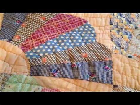simple hand quilting designs fan quilt block youtube