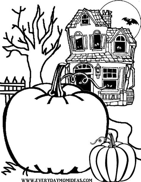 Halloween Coloring Pages Worksheets  Math Coloring Pages