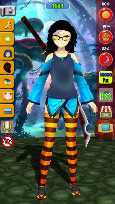 virtual manga girl anime apk  android apps