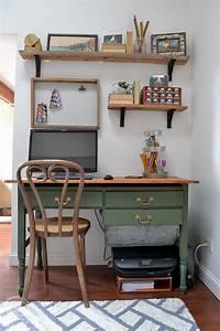2018 Budget Chart Green Desk From An Antique Baker 39 S Cabinet Refresh Living