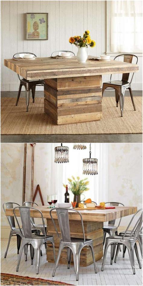 customiser un bureau en bois table en palette 44 idées à découvrir photos
