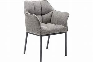 Chaise But Grise : chaise grise avec accoudoirs thankyou design sur sofactory ~ Teatrodelosmanantiales.com Idées de Décoration