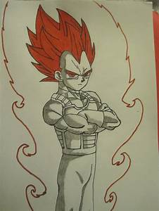 Super Saiyan God Vegeta (what if) by JesseBriceno on ...